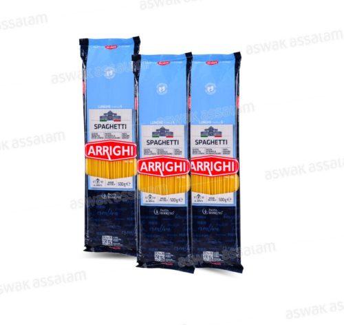 LOT DE 3 SPAGHETTIS 500G ARRIGHI (2 ACHETES = 1 GRATUIT)