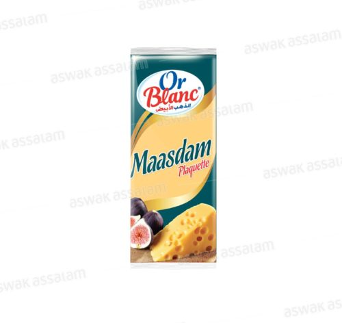 FROMAGE MAASDAM PLAQUETTE 235G OR BLANC